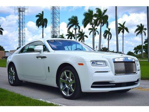 English White 2014 Rolls-Royce Wraith