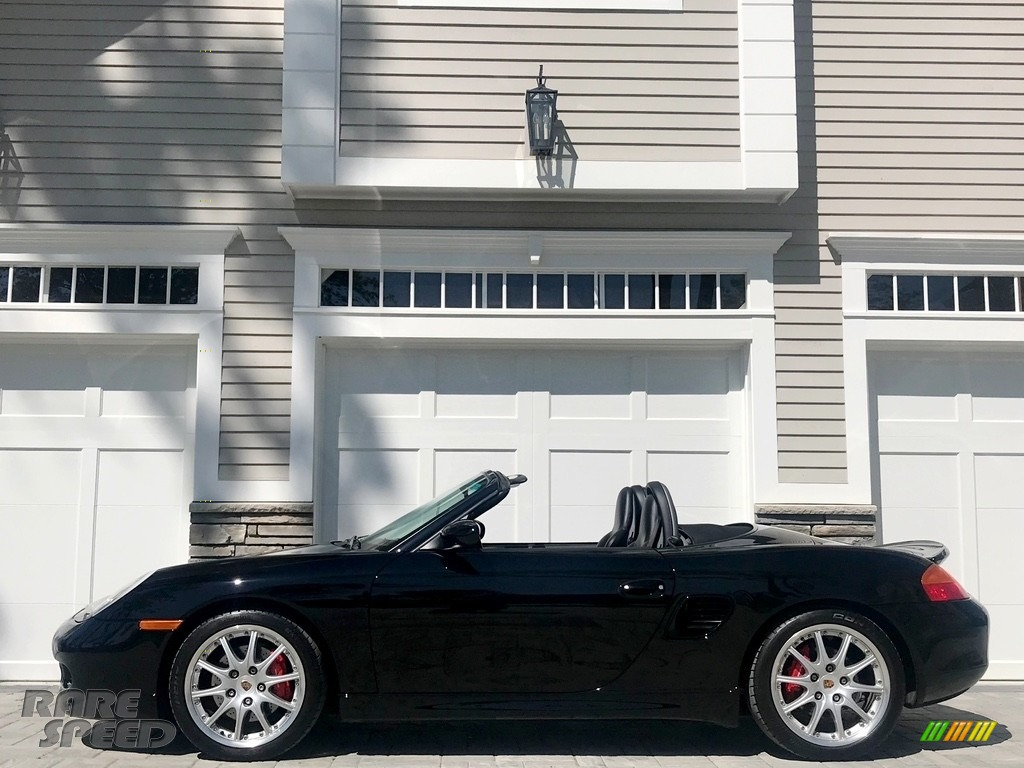 2001 Boxster S - Black / Black photo #1