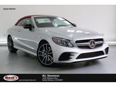 Iridium Silver Metallic 2019 Mercedes-Benz C 43 AMG 4Matic Cabriolet