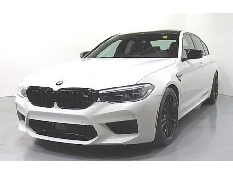 Alpine White 2019 BMW M5 Competition