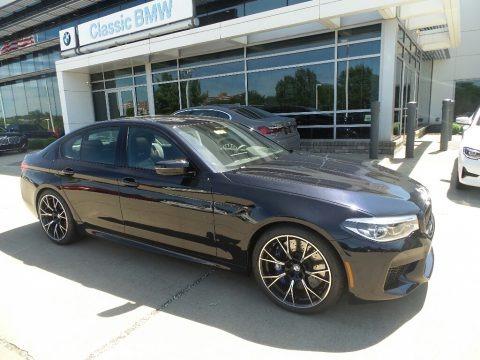 Azurite Black Metallic 2019 BMW M5 Competition
