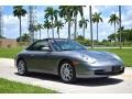 Porsche 911 Carrera Cabriolet Seal Grey Metallic photo #2