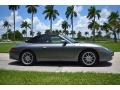 Porsche 911 Carrera Cabriolet Seal Grey Metallic photo #3