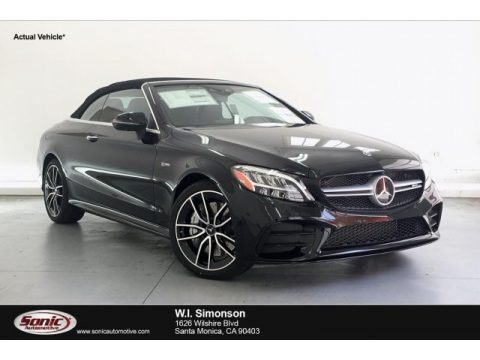 Black 2019 Mercedes-Benz C 43 AMG 4Matic Cabriolet