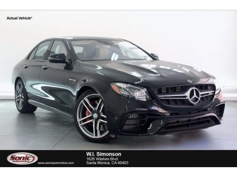 Obsidian Black Metallic 2019 Mercedes-Benz E AMG 63 S 4Matic Sedan