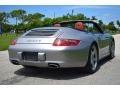 Porsche 911 Carrera 4 Cabriolet GT Silver Metallic photo #5