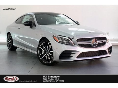 Iridium Silver Metallic 2019 Mercedes-Benz C 43 AMG 4Matic Coupe