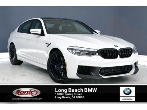 Alpine White 2019 BMW M5 Sedan