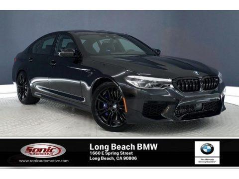 Black Sapphire Metallic 2019 BMW M5 Sedan