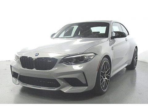 Hockenheim Silver Metallic 2020 BMW M2 Competition Coupe