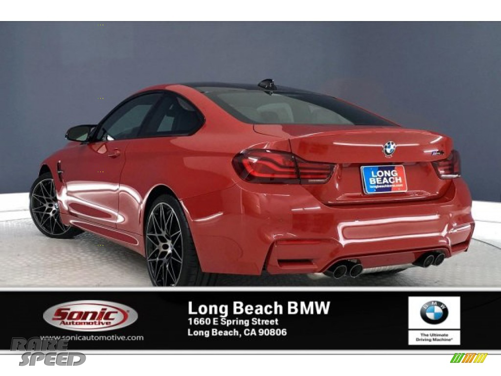 2020 M4 Coupe - Melbourne Red Metallic / Black photo #2