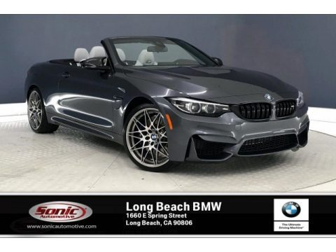 Mineral Grey Metallic 2020 BMW M4 Convertible
