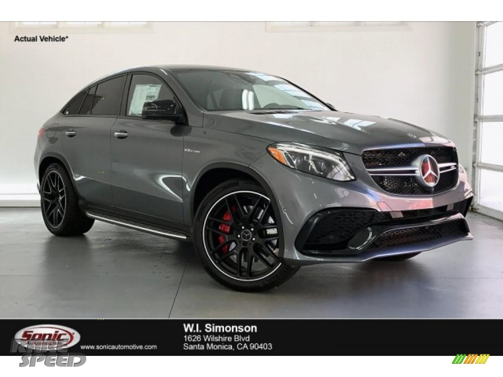 2019 GLE 63 S AMG 4Matic Coupe - Selenite Grey Metallic / Black photo #1