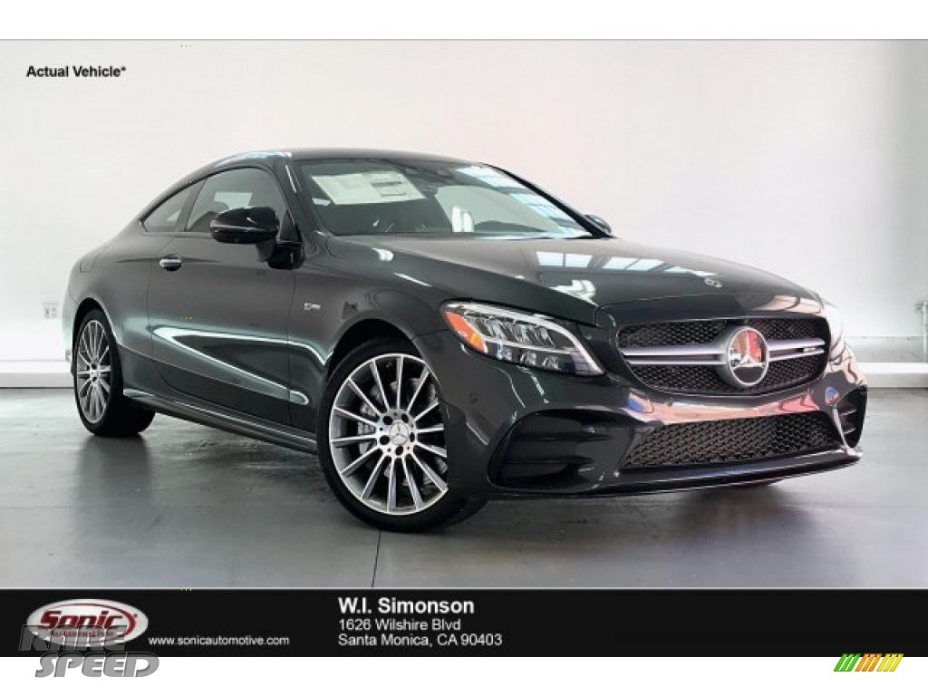 Graphite Grey Metallic / Black Mercedes-Benz C 43 AMG 4Matic Coupe