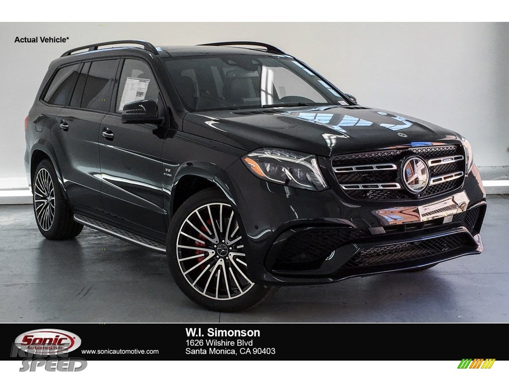 Obsidian Black Metallic / Black Mercedes-Benz GLS 63 AMG 4Matic