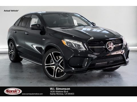 Black 2019 Mercedes-Benz GLE 43 AMG 4Matic Coupe