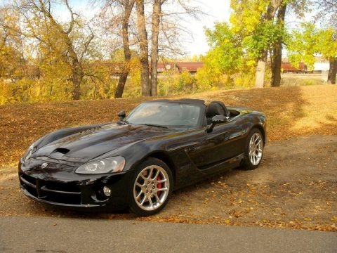 Viper Black 2006 Dodge Viper SRT-10