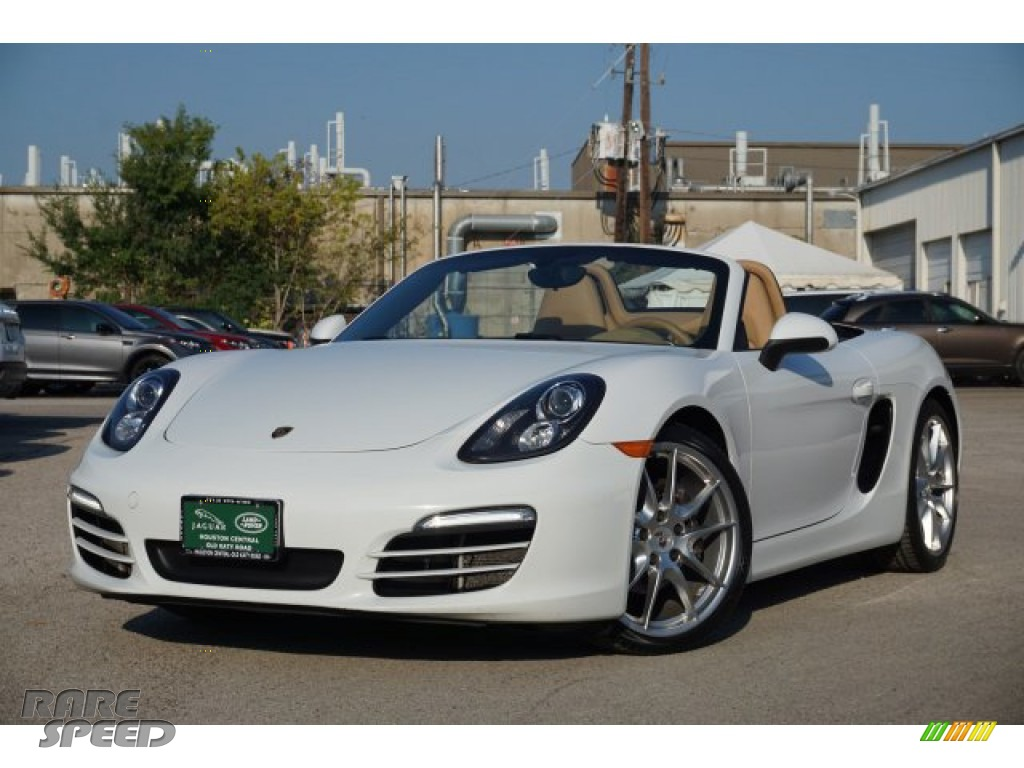 2013 Boxster  - White / Luxor Beige photo #1