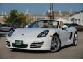 Porsche Boxster  White photo #1