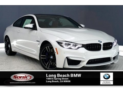 Mineral White Metallic 2020 BMW M4 Coupe