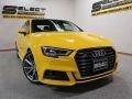 Audi S3 2.0T Tech Premium Plus Vegas Yellow photo #11