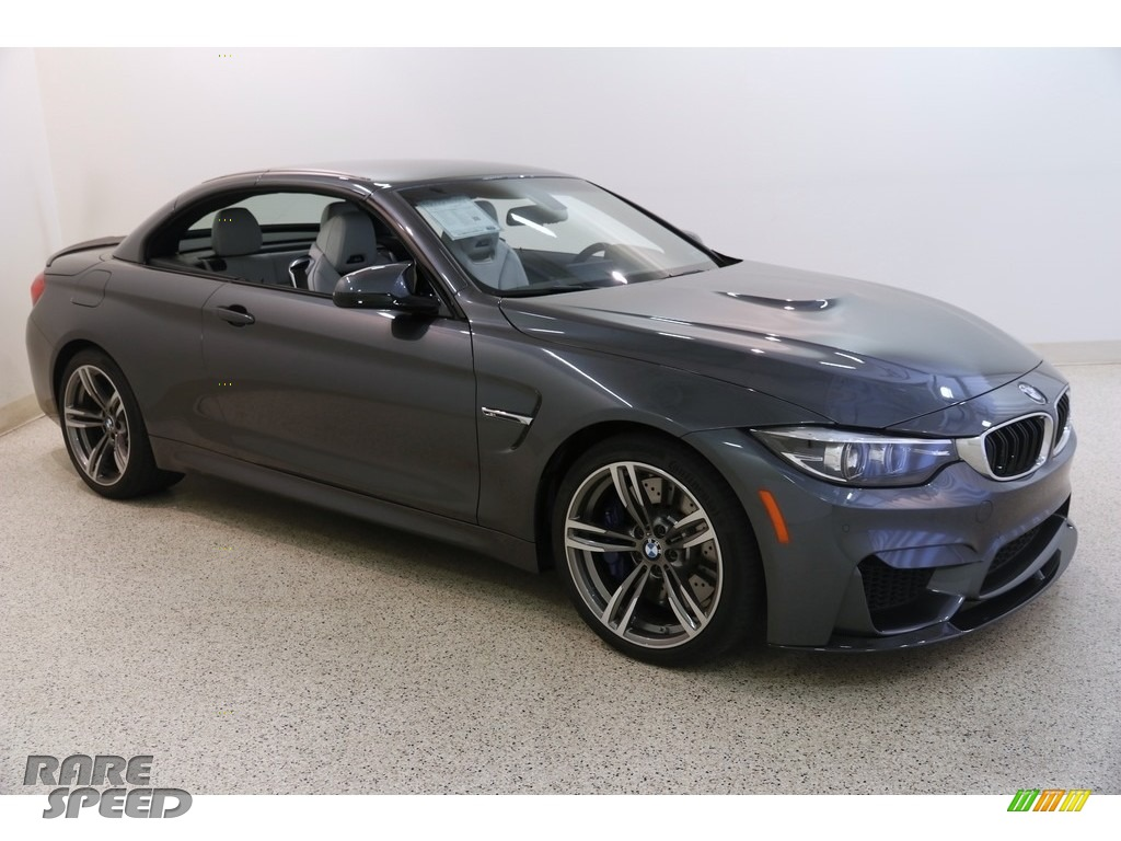 2018 M4 Convertible - Mineral Grey Metallic / Silverstone photo #2