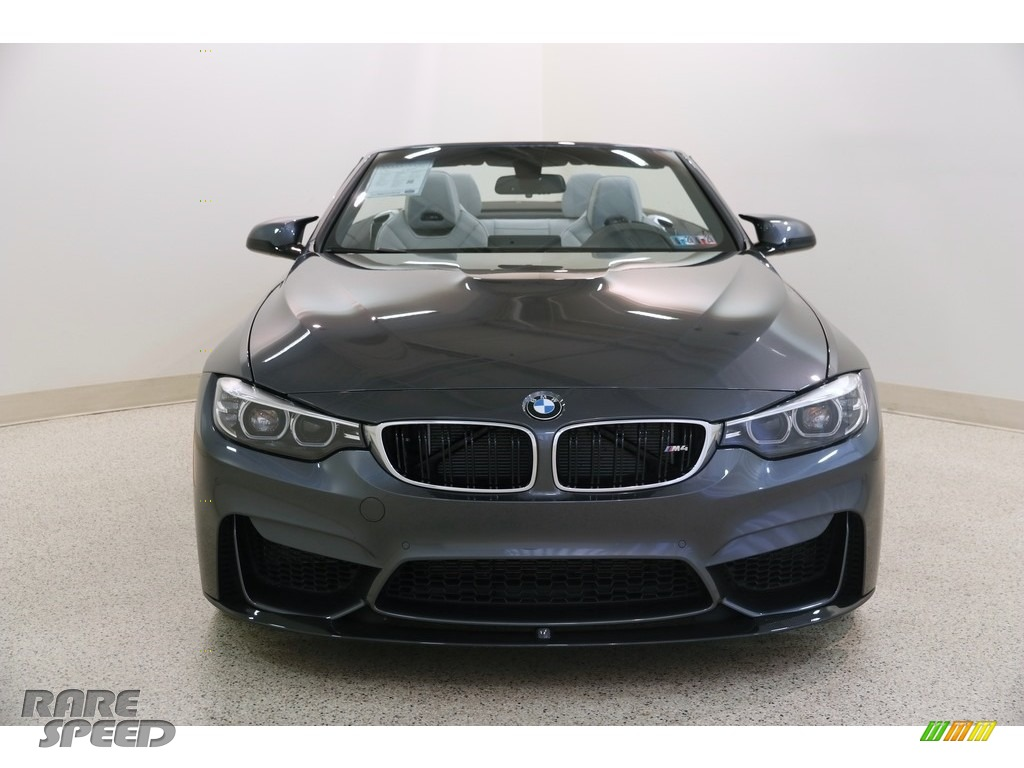 2018 M4 Convertible - Mineral Grey Metallic / Silverstone photo #3