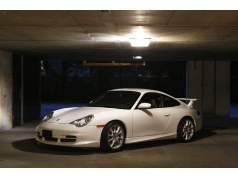 Carrara White 2004 Porsche 911 GT3