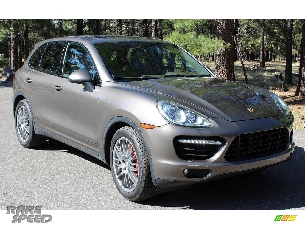 2011 Cayenne Turbo - Umber Brown Metallic / Luxor Beige photo #1