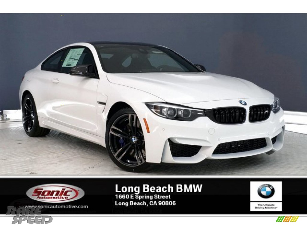 2020 M4 Coupe - Alpine White / Carbonstructure Anthracite/Black photo #1