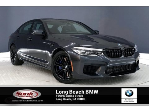 Singapore Gray Metallic 2019 BMW M5 Sedan