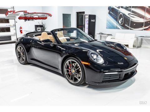 Black 2020 Porsche 911 Carrera S Cabriolet