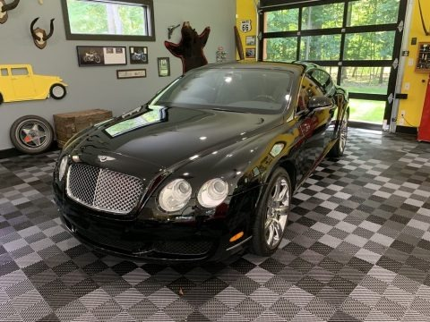 Diamond Black 2006 Bentley Continental GT