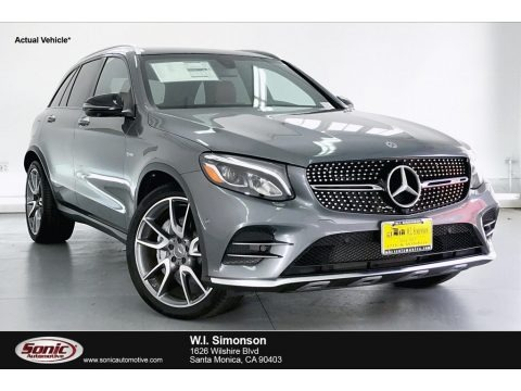Selenite Grey Metallic 2019 Mercedes-Benz GLC AMG 43 4Matic