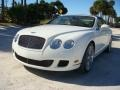 Bentley Continental GTC Speed Glacier White photo #35