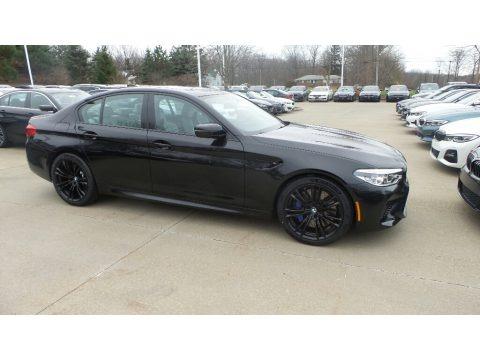 Black Sapphire Metallic 2020 BMW M5 Sedan