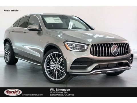 Mojave Silver Metallic 2020 Mercedes-Benz GLC AMG 43 4Matic Coupe