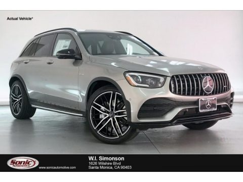 Mojave Silver Metallic 2020 Mercedes-Benz GLC AMG 43 4Matic