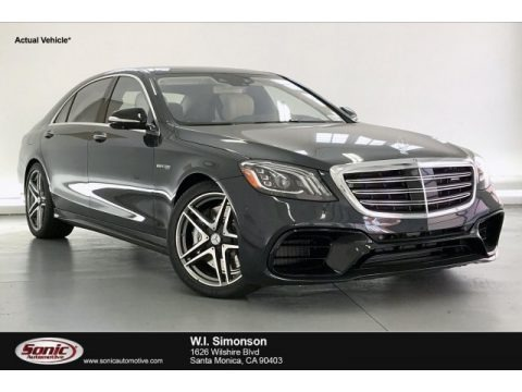 Anthracite Blue Metallic 2020 Mercedes-Benz S 63 AMG 4Matic Sedan