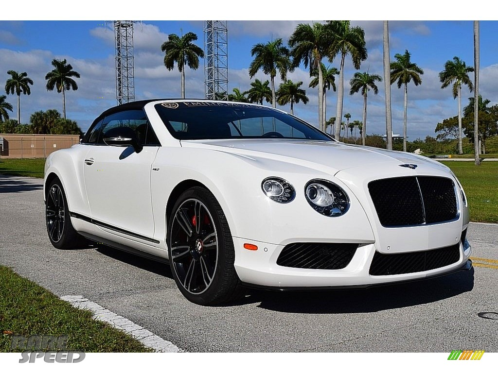 Arctica / White/Black Bentley Continental GT V8 S