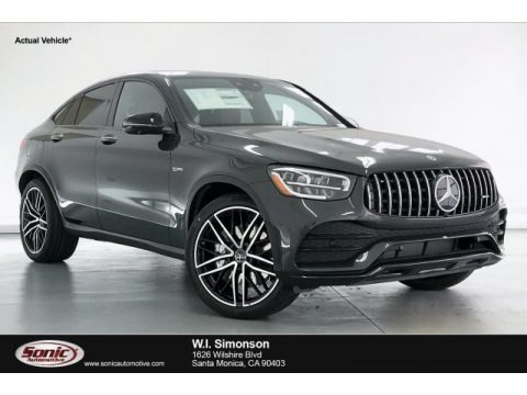 Graphite Grey Metallic 2020 Mercedes-Benz GLC AMG 43 4Matic Coupe