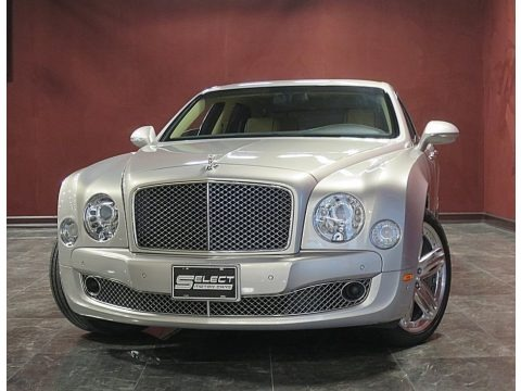 Silver Storm 2014 Bentley Mulsanne