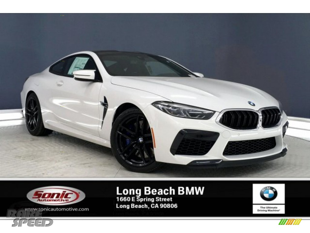 2020 M8 Coupe - Alpine White / Black photo #1