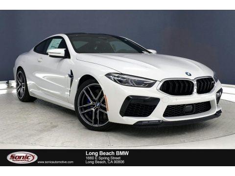 Alpine White 2020 BMW M8 Coupe