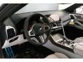 BMW M8 Convertible Marina Bay Blue Metallic photo #4