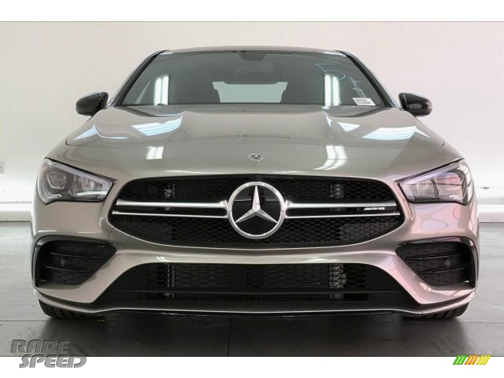 2020 CLA AMG 35 Coupe - Mojave Silver Metallic / Neva Gray/Black photo #2