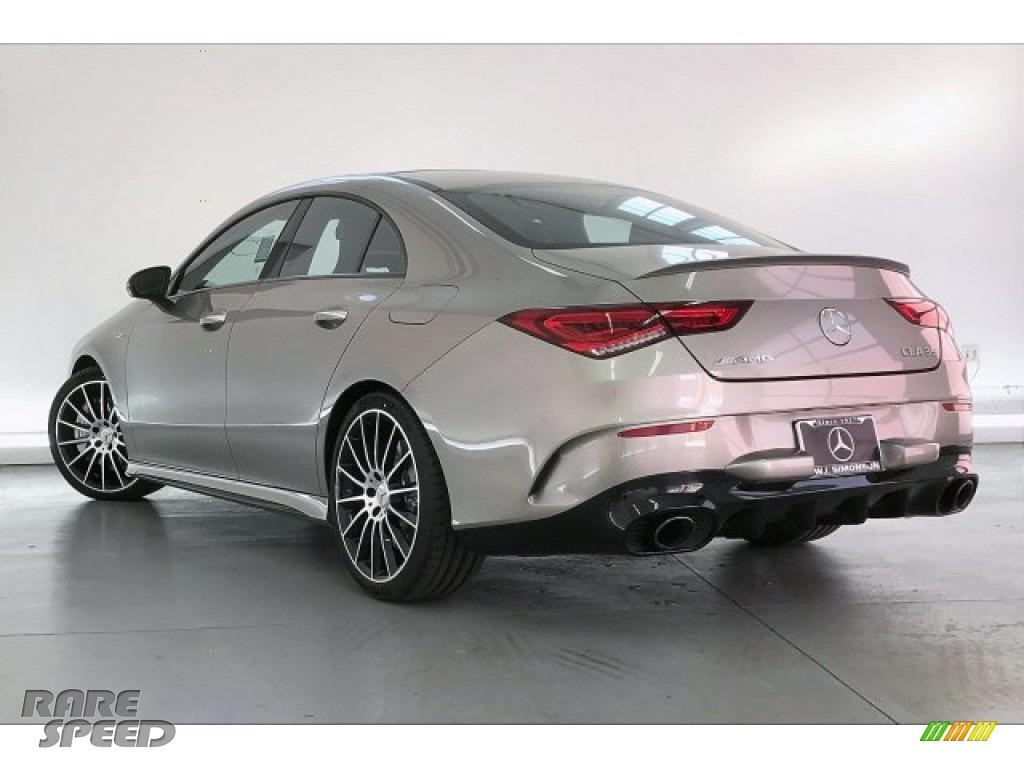 2020 CLA AMG 35 Coupe - Mojave Silver Metallic / Neva Gray/Black photo #10