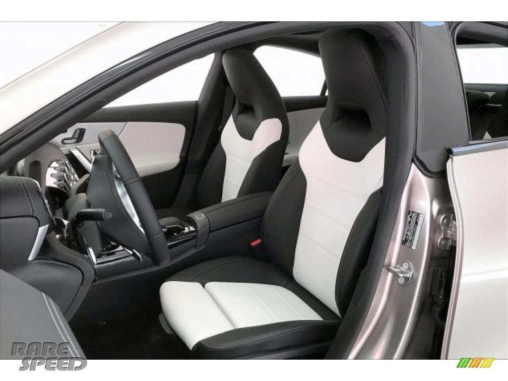 2020 CLA AMG 35 Coupe - Mojave Silver Metallic / Neva Gray/Black photo #14