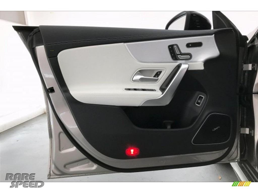 2020 CLA AMG 35 Coupe - Mojave Silver Metallic / Neva Gray/Black photo #25