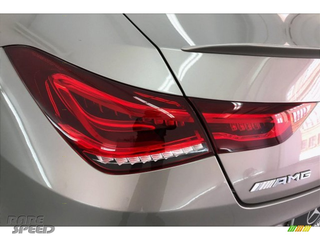 2020 CLA AMG 35 Coupe - Mojave Silver Metallic / Neva Gray/Black photo #26